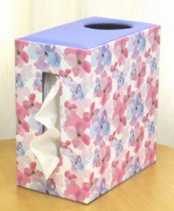 ゴミ箱付きティッシュケース