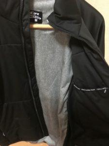 ワークマンの防寒着のインナー